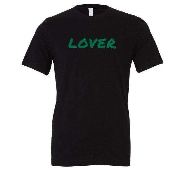 Lover - Black_Green Motivational T-Shirt | EntreVisionU