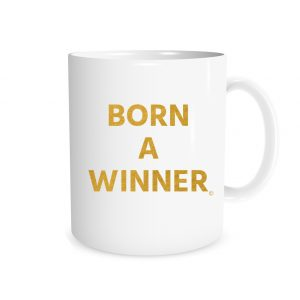 Born a Winner - White_Gold 11 oz Mug EntreVisionU