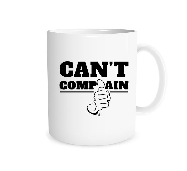 Can't Complain - White_Black 11 oz Mug EntreVisionU