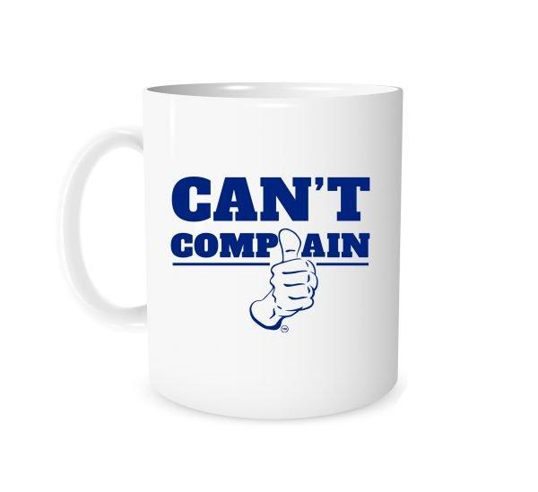 Can't Complain - White_Blue 11 oz Mug EntreVisionU