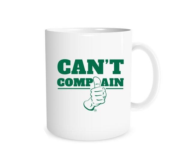 Can't Complain | White_Green 11 oz Mug | EntreVisionU