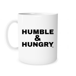 Humble and Hungry - White_Black 11 oz Mug | EntreVisionU