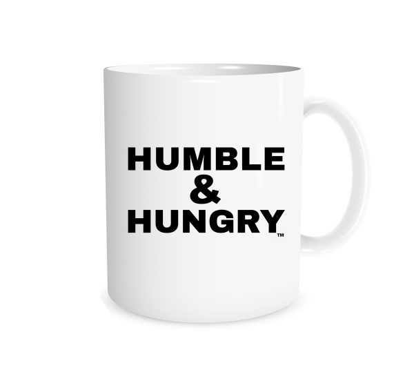 Humble and Hungry - White_Black 11 oz Mug - EntreVisionU