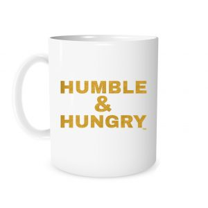 Humble and Hungry | White_Gold 11 oz Mug | EntreVisionU