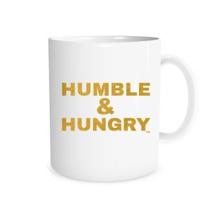 Humble and Hungry - White_Gold 11 oz Mug | EntreVisionU