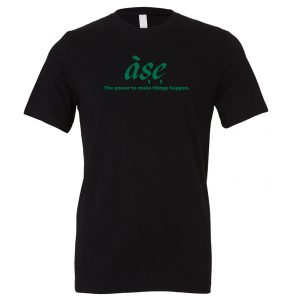 ASE - Black_Green Motivational T-Shirt | EntreVisionU