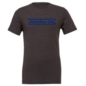 Independence Today - Dark-Gray_Blue Motivational T-Shirt | EntreVisionU
