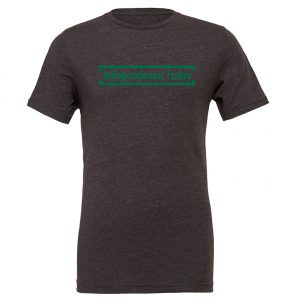 Independence Today - Dark-Gray_Green Motivational T-Shirt | EntreVisionU