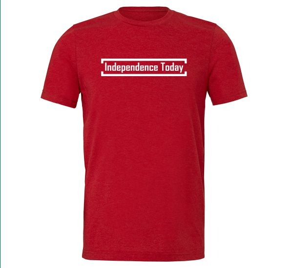 Independence Today - Red_White Motivational T-Shirt | EntreVisionU